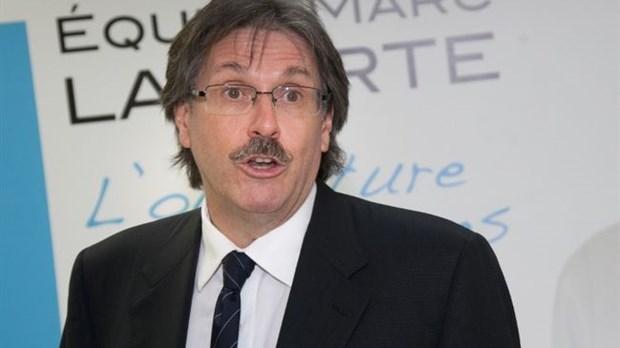 Marc Laporte a officiellement présenté tous ses candidats. - Photo: Photo Alarie-Photos - 1379487420568_ORIGINAL-620x348
